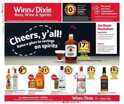 Catalogue Winn Dixie Black Friday 2020 from 11/02/2020