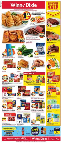 Current weekly ad Winn Dixie