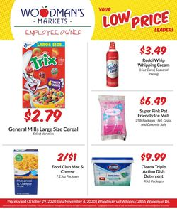 Current weekly ad Woodman's Market