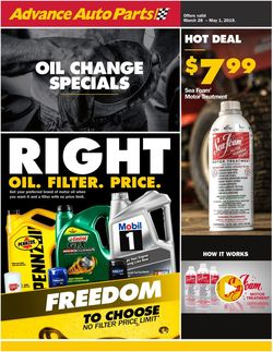 Advance Auto Parts weekly-ad