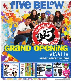 Five Below weekly-ad