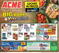 Catalogue Acme from 09/10/2021