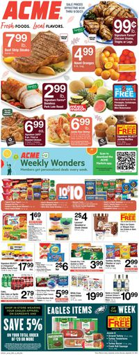 Catalogue Acme from 09/24/2021