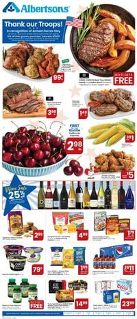 Catalogue Albertsons from 05/12/2021