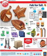 Catalogue ALDI from 09/22/2021