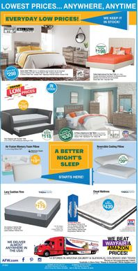 Catalogue American Furniture Warehouse from 07/14/2021