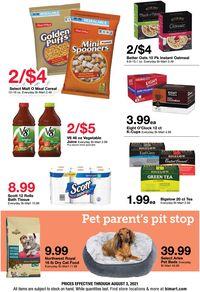 Catalogue Bi-Mart from 07/21/2021