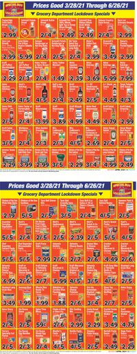 Catalogue Boyer's Food Markets from 03/28/2021
