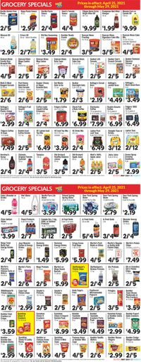 Catalogue Boyer's Food Markets from 04/25/2021