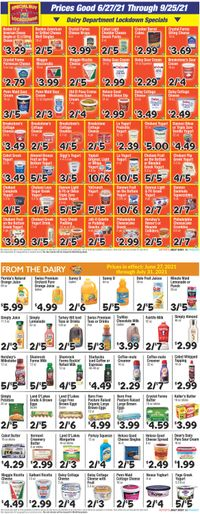 Catalogue Boyer's Food Markets from 06/27/2021