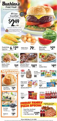 Catalogue Buehler's Fresh Foods from 05/12/2021