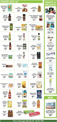Catalogue Buehler's Fresh Foods from 06/30/2021