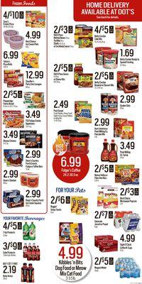 Catalogue Dot's Market from 09/13/2021