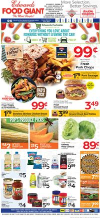 Catalogue Edwards Food Giant from 06/16/2021