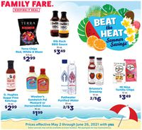 Catalogue Family Fare from 05/02/2021