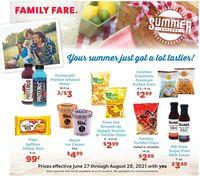Catalogue Family Fare from 06/27/2021