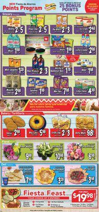 Catalogue Fiesta Foods SuperMarkets from 09/22/2021