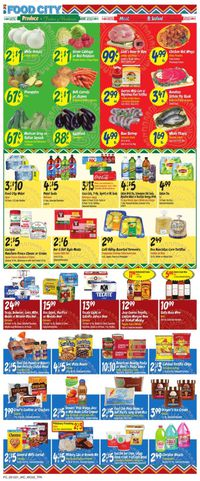 Catalogue Food City from 05/12/2021
