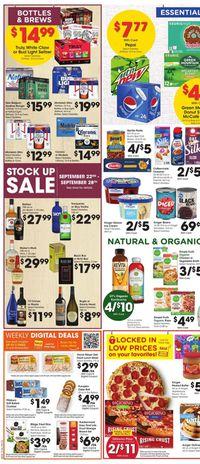 Catalogue Gerbes Super Markets from 09/22/2021