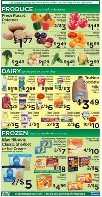 Catalogue Green Hills Grocery from 09/22/2021