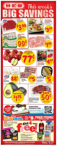 Catalogue H-E-B from 05/12/2021