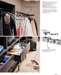 Catalogue IKEA Wardrobe 2021 from 09/10/2020