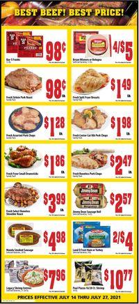 Catalogue Mac's Freshmarket from 07/14/2021