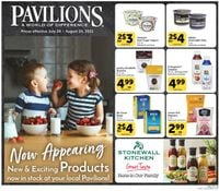 Catalogue Pavilions from 07/28/2021