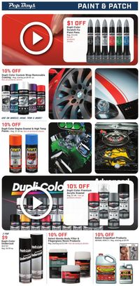 Catalogue Pep Boys from 06/27/2021