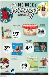 Catalogue Safeway from 05/05/2021