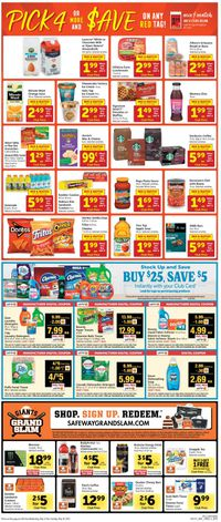 Catalogue Safeway from 05/12/2021