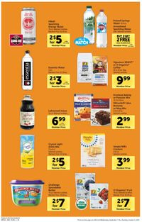Catalogue Safeway from 09/01/2021