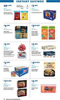 Catalogue Sam's Club from 05/10/2021