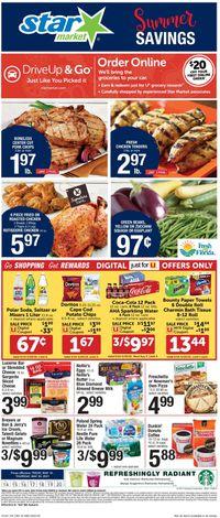 Catalogue Star Market from 05/14/2021