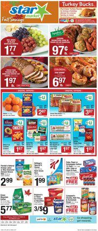 Catalogue Star Market from 10/22/2021