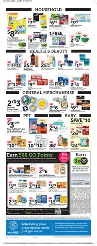 Catalogue Stop and Shop from 07/23/2021