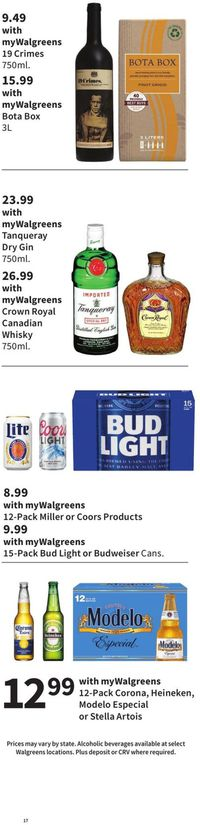 Catalogue Walgreens from 09/19/2021