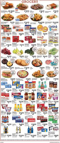 Catalogue Woods Supermarket from 09/22/2021
