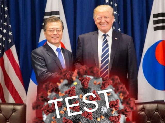 America turns to South Korea for more tests